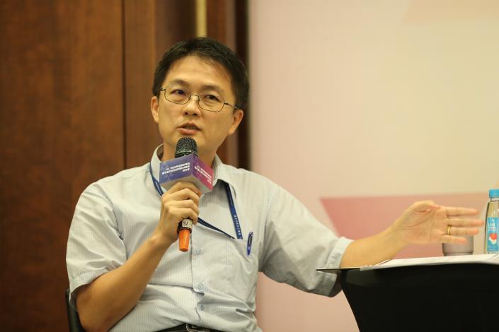 與談貴賓臺北市政府聯合採購發包中心陳智盛副主任