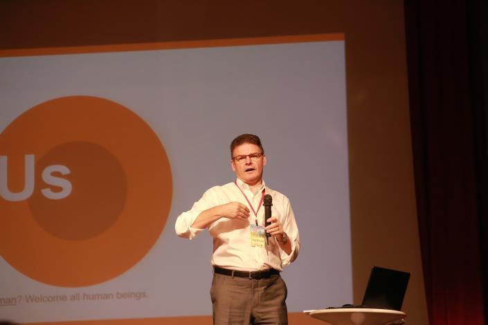 2-1.Ian Pround主講美國共融式遊戲設計指南的制定分享