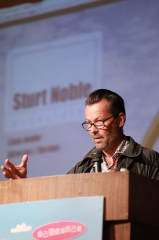 6-1.Liam Noble主講澳洲共融式遊戲場規劃與設計之經驗分享