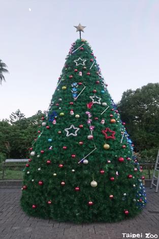 6公尺高的聖誕樹裝飾