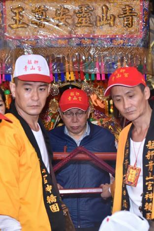 1061207靈安尊王暗訪遶境活動新聞照片