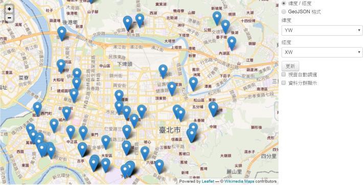 台北市自行車停車位(oBike加值版)已可於台北市政府資料開放平台下載應用[開啟新連結]