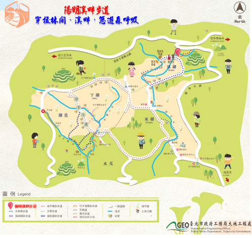 陽明溪步道地圖[開啟新連結]