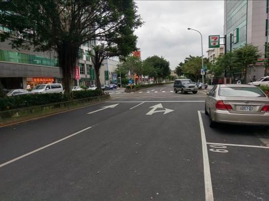 行忠路道路更新,標線及停車格位重繪[開啟新連結]
