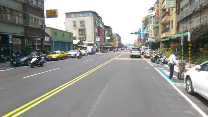 酒泉街道路更新,標線及停車格位重繪[開啟新連結]