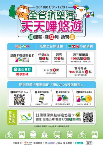 週五綠運輸從臺北開始,全臺一起抗空污[開啟新連結]