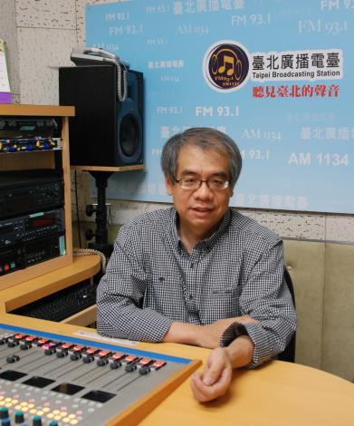 知名作家楊照在臺北電臺陪您讀書