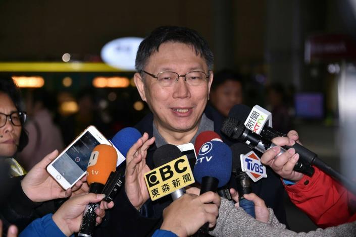 結束歐洲參訪之旅 柯文哲有感到處都能看到臺灣人努力蹤跡