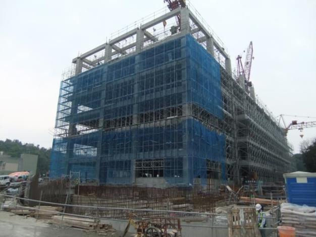 中央研究院生態研究區(國家生技研究園區開發計畫)工程開工照片3