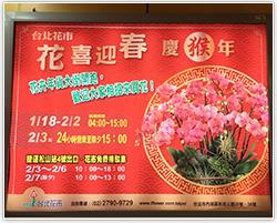 臺北地下街廣告燈箱照片