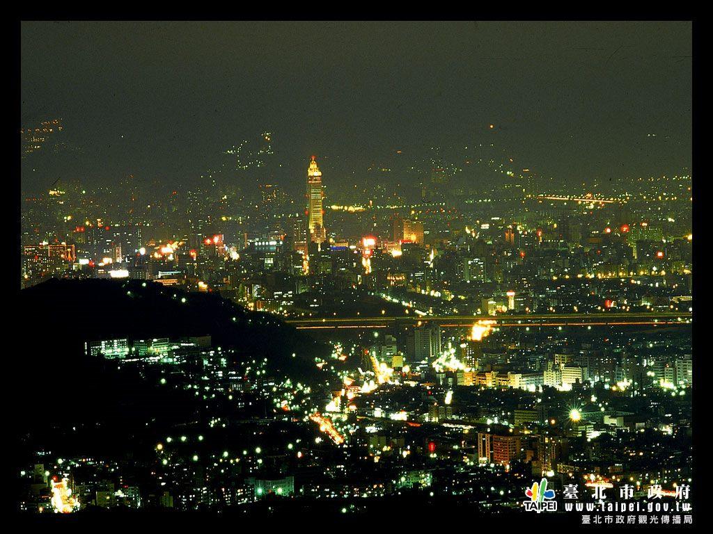 文化大學後山夜景1024x768