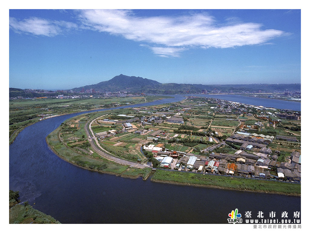 鳥瞰臺北1024x768