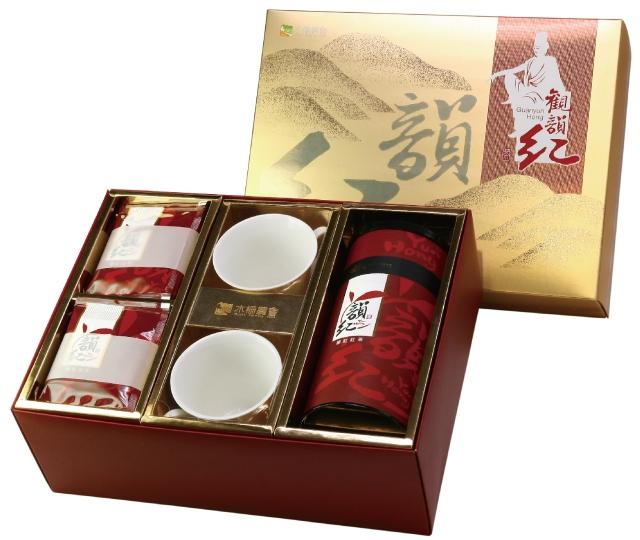 韻紅紅茶包裝設計