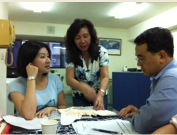 專業顧問前往青創貸款戶訪視輔導