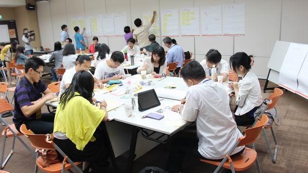 臺北創新實驗室~設計思考探索營課程