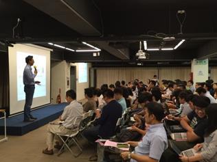 「臺北市中小企業知識學苑」-老闆學校講座上課實況