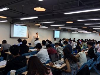 「臺北市中小企業知識學苑」-創新加速課程上課實況