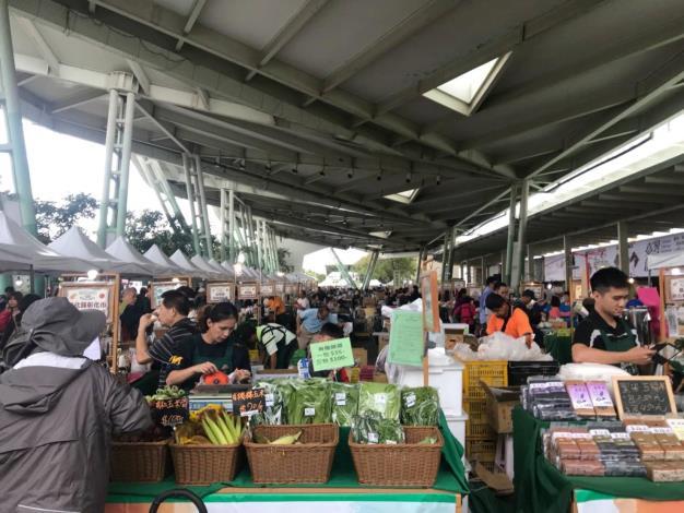 花博農民市集攤位照片[開啟新連結]