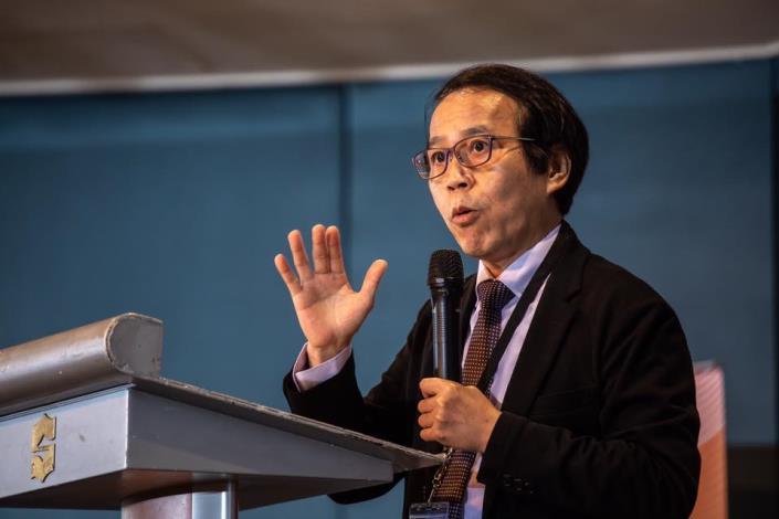 循環經濟論壇-林副市長進行報告[開啟新連結]