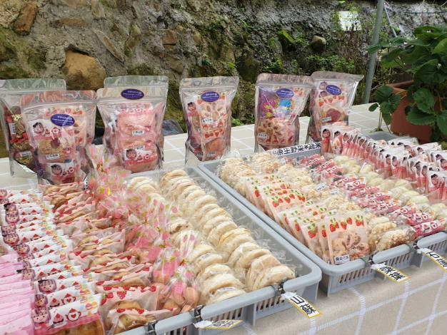 圖7、內湖農驛站農園以在地新鮮植材,開發多種手作特色糕點。