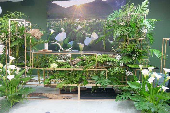 圖4、花田裡的餐桌_將在竹子湖海芋田中提供悠閒療癒的用餐環境[開啟新連結]