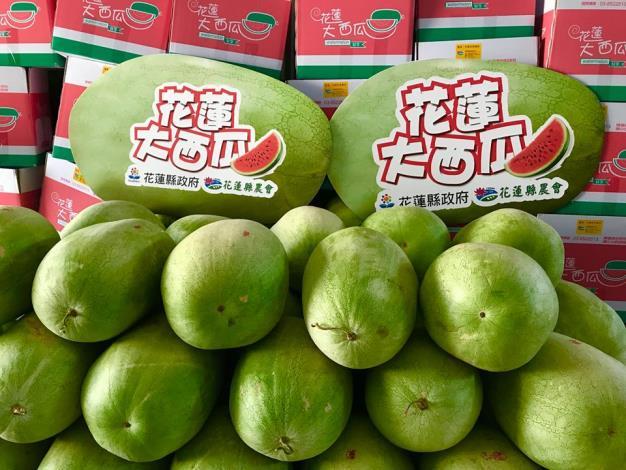 圖2.產地直送優質水果-西瓜