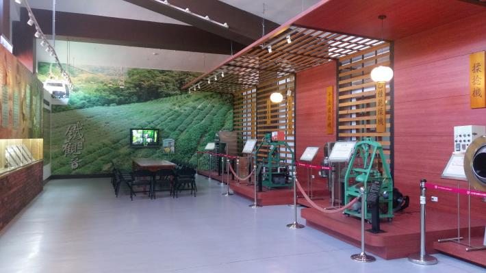 圖5.茶推廣中心內部設有茶葉展示區