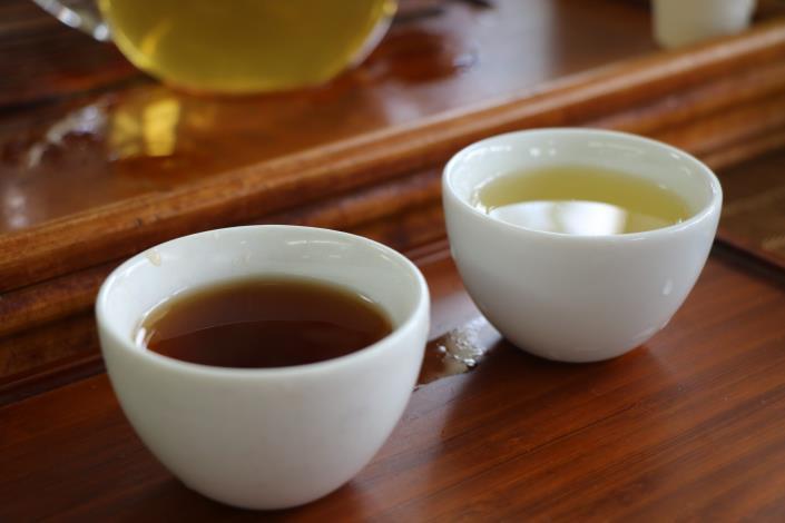 圖2.南投週的優質茶葉,等您來品嘗。