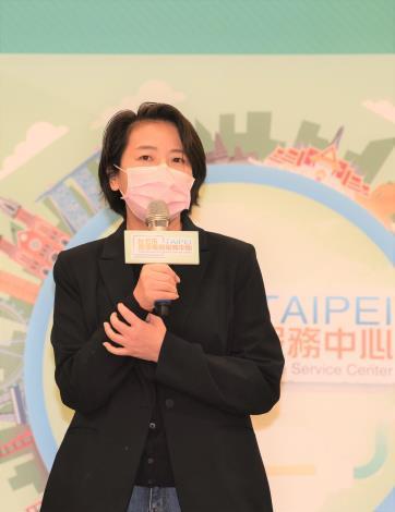 臺北市副市長黃珊珊