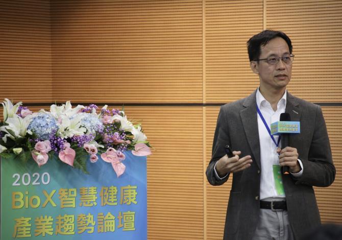 宏碁智醫 許銀雄總處長分享跨界合作開發AI輔助診斷