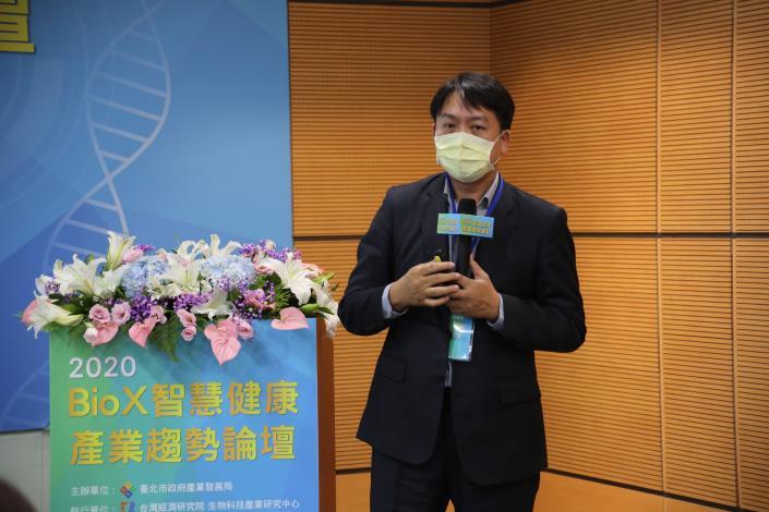 華碩健康吳漢章總經理分享智慧化精準健康與臨床應用