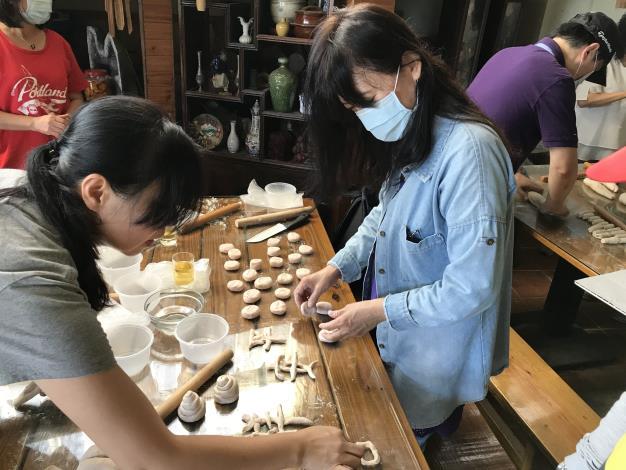 山藥饅頭DIY