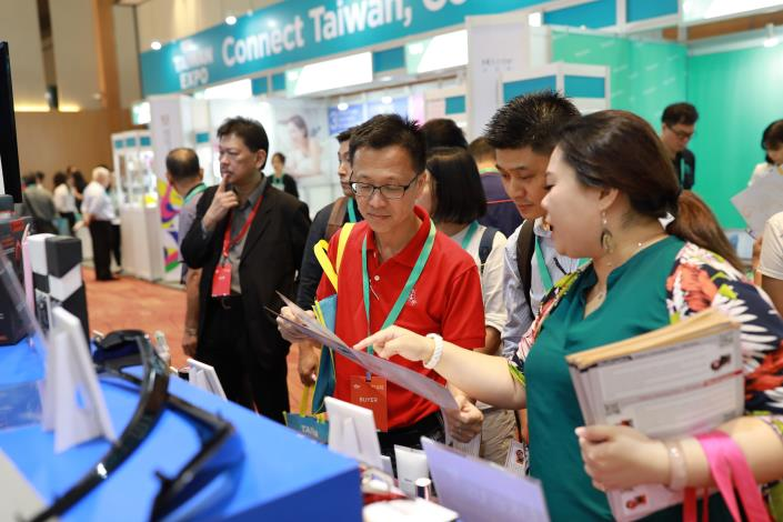 Taipei City Government presents Taipei Your Partner Pavilion in Taiwan Expo in Malaysia to promote fine goods and services of Taipei to local Penang people..JPG