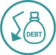 債務管理意象圖