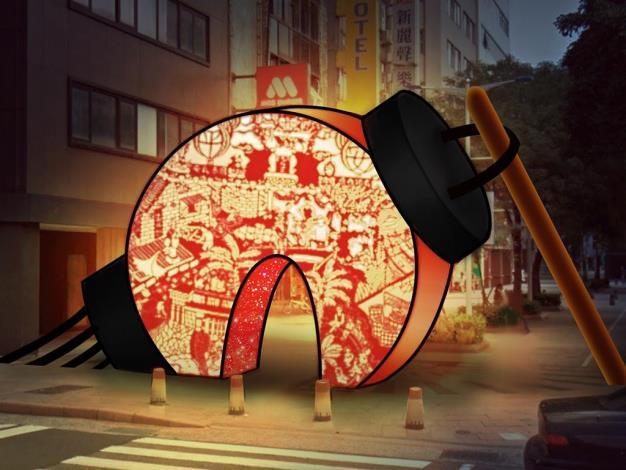 「祈福生子燈」、「重回提燈光陰」  與受刑人共同創作展顯紙雕之美 臺北燈節花燈傳遞溫暖關懷  成若涵重現台灣最美風景