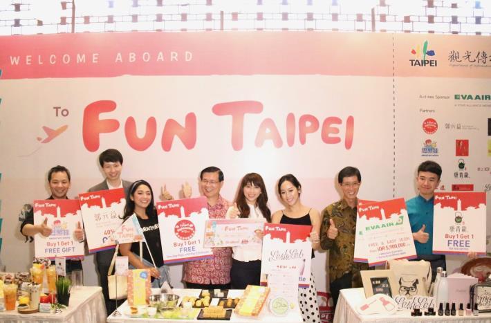 連印尼夢幻美少女DINDA都說讚!下一站FUN TAIPEI 融合時尚、復古、傳統與創新的最佳旅遊目的地 臺北五大經典體驗 正式登陸印尼!