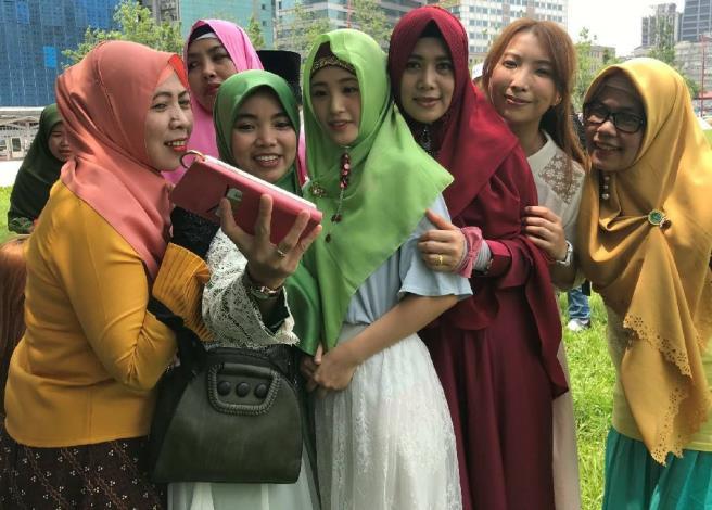 歡迎穆斯林朋友來大安森林公園感受臺北的熱情[開啟新連結]