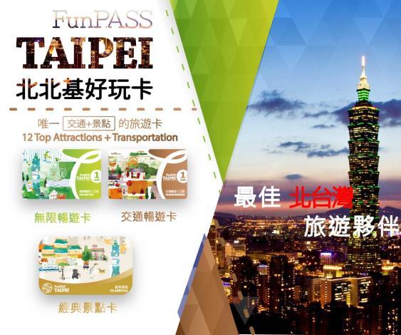 「Taipei Fun Pass北北基好玩卡」重磅推出「經典景點卡」  2大必遊景點門票 + 悠遊卡,觀光客表示「很可以」