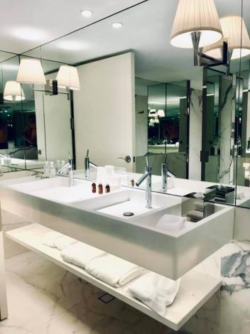 第6家防疫旅館衛浴設備