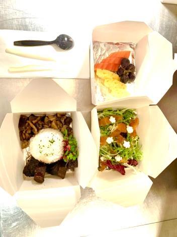 第6家防疫旅館提供米其林主廚準備各種美食
