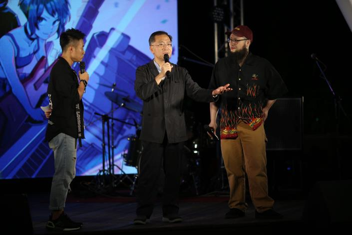 臺北市副市長蔡炳坤肯定Live_House對臺北市音樂文化的貢獻.JPG