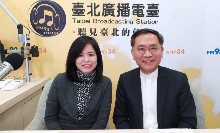 臺北市副市長蔡炳坤是「臺北故事博物館」第一集節目嘉賓