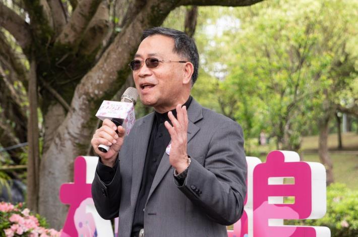 台北市副市長蔡炳坤邀請民眾於杜鵑花季期間至城南地區賞花。