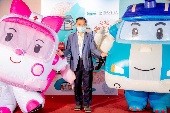 台北探索館「台北無圍牆博物館特展─波力玩台北」即日起展覽至12月15日止。