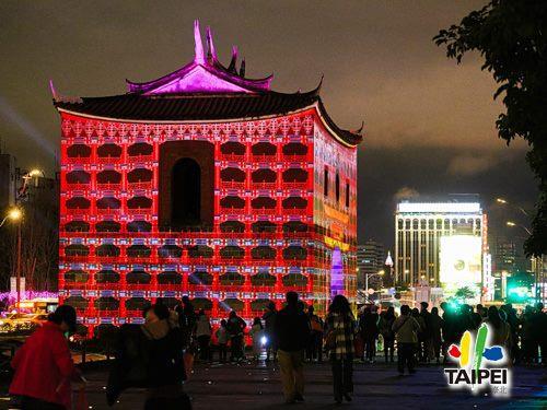 2019臺北燈節活動搖擺北門