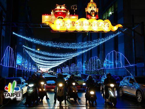 2019城隍廟街燈
