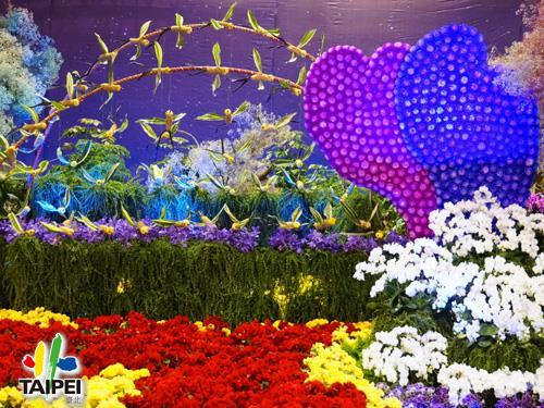12花卉裝置藝術設計大展_爭艷館