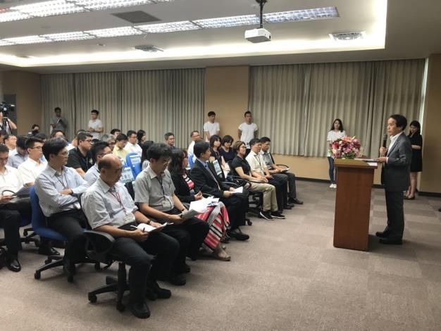 臺北市智慧路燈策略與實證計畫說明會現場情形。[開啟新連結]