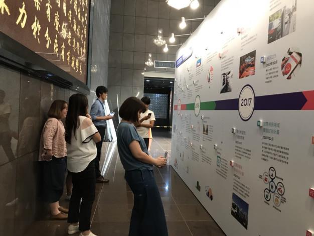 歡迎大家參觀展覽,拍照、打卡上傳臉書、IG,創造臺北市政府另類新熱點。[開啟新連結]