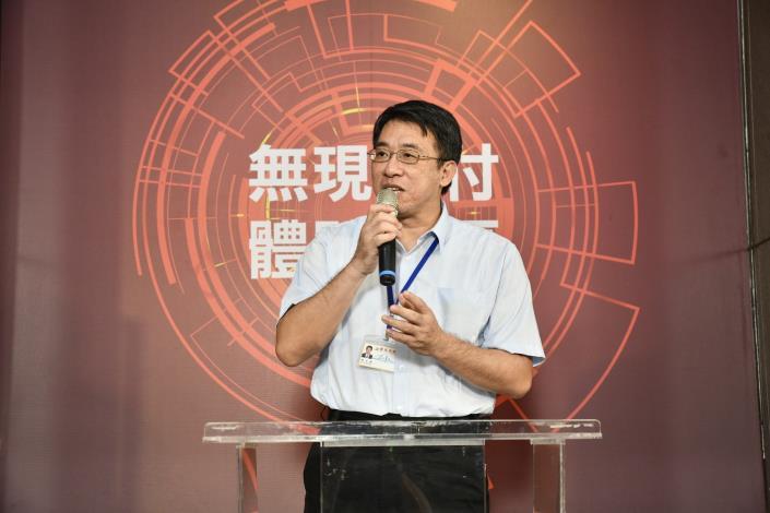 台北市政府副秘書長陳志銘出席「無現金支付體驗專區」啟動記者會[另開新視窗]